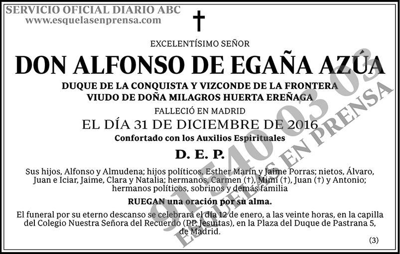 Alfonso de Egaña Azúa
